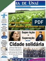 JORNAL FOLHA DE UNAÍ - MARÇO DE 2012 - EDIÇÃO 19