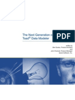 Toad Data Modeler Next Generation