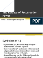 2012 - The Release of Resurrection Power