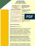 Draper Juan Guillermo - Historia de Los Conflictos Entre La Religion Y La Ciencia (1876)