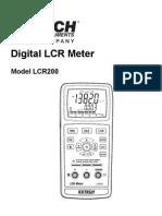 Testequipmentshop.com LCR200 User Manual