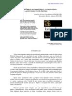 PRINCÍPIOS TEÓRICOS DE TOPONÍMIA E ANTROPONÍMIA