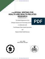1. Proposal Writing Module