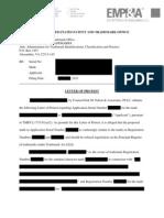 Sample Trademark Letter of Protest