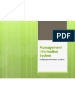 Management Information System-Building Information System_lesson5