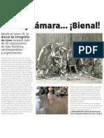 Bienal de Fotografía en Lima