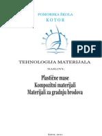 Skriptica - Plastika, Kompoziti Za Gradnju Brodova