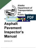eBook - Asphalt Pavement Inspector's Manual