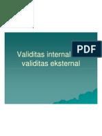 Ocw.usu.Ac.id-pek 143 Slide Validitas Internal Dan Validitas Eksternal