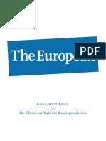 The European Präsidentschaftswahl 2012