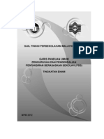 Garis Panduan Umum Pengurusan dan Pengendalian Pantaksiran Berasaskan Sekolah (PBS) Tingkatan Enam
