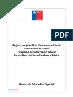 Registro Pie Educacion Basica 2011