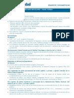 Requisitos Documentación Ciudad Vivienda28_10_11