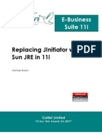 Replacing JInitiator With Sun JRE in 11i Wp