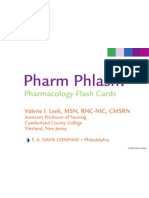 Pharm Phlash Cards