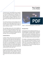 Slurry Pumping Article