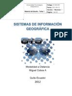 Material de Estudio GIS Taller 1