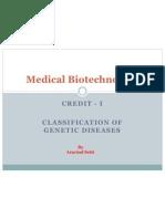 Human Genetics Credit I