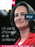 Ségolène Royal - Les Cent propositions du Pacte présidentiel
