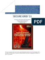 Secure Grid '11 After-Action Report