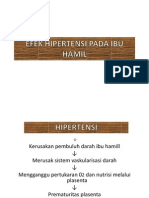 Efek Hipertensi Pada Ibu Hamil