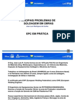 EPC em Prática 1 - Palestra 1 - PalestraProblemasSoldagem