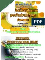PERHUBUNGAN AWAM_PROFESIONALISME