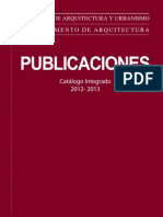 PUCP PUBLICACIONES Catálogo 2012 -2013