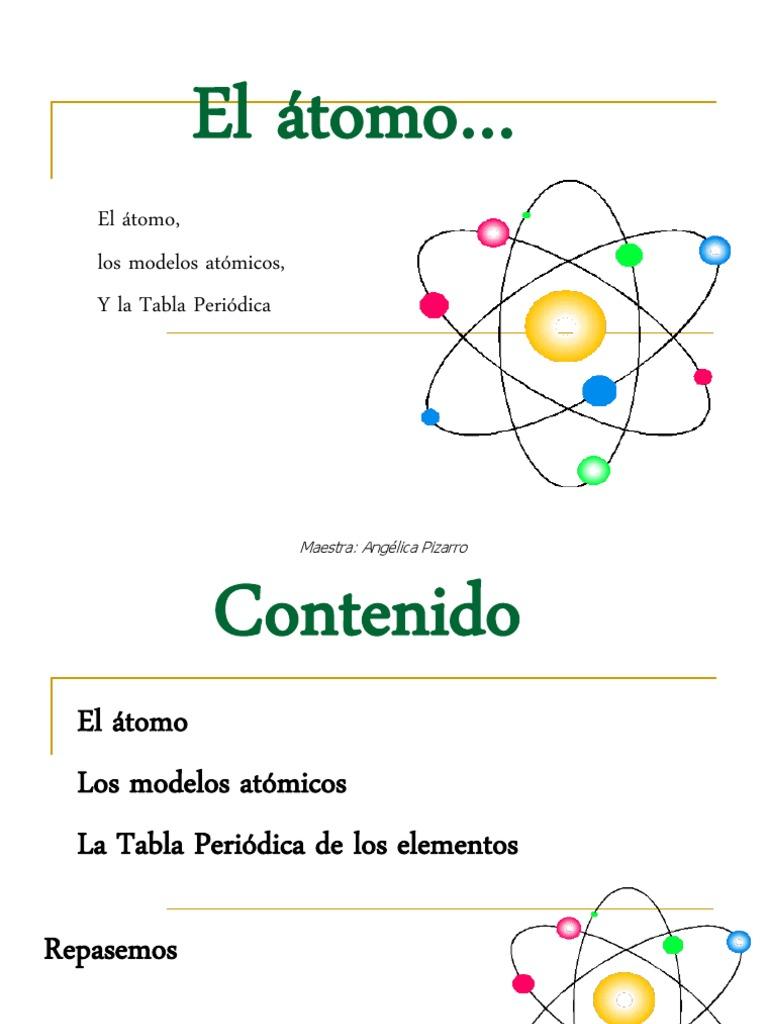 El Atomo y Los Modelos Atomicos