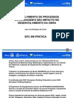 EPC em Prática 1 - Palestra 2 - PalestraProcessosSoldagem