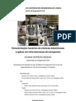 Caracterização mecânica de misturas betuminosas (1)