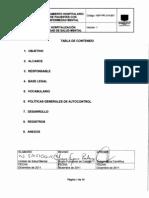 HSP-PR-314-001 Tratamiento Hospitalario de Pacientes con Enfermedad Mental