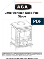 Aga Little Wenlock Sf Nb Manual