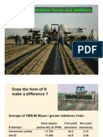 N and K Fertilizer Comparisons on Yield Production of Tomato