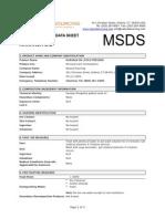 MSDS Karanja Seed Oil