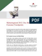 Marketingtrend 2012