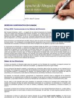 Derecho Corporativo en Canada Bce Los Deberes Del Directorio