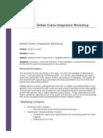 Deltek Cobra Integration Workshop