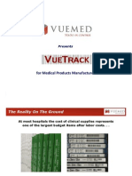 VueTrack for Medical Products Manufacturers 12-2011