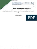 Cattaneo y Gervasoni - Buenos Aires Y Cordoba en 1729 [PDF]