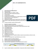 Check – List - Elaboracao de PCA