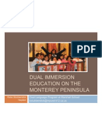 Hayden_Dual Immersion Education on the Monterey Peninsula