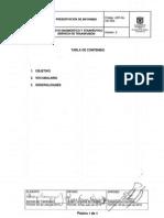 ADT-IN-337-004 Presentacion de Informes