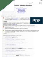 C++ à Java _ Création et utilisation des classes