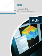 Leonardo Hull Ship Structural Analysis