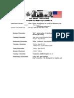 Schedule Unit 7