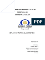 Advanced Power Electrnics