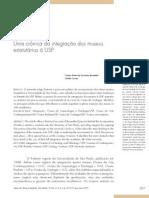 2007 Integração Museus à USP