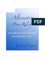 Alternative Pain Relief - Anon User