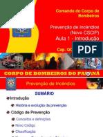 Prevencao de Incendios - Novo CSCIP